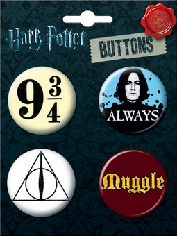 Harry Potter Icons Button Set