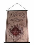 Harry Potter Marauder's Map Wall Scroll