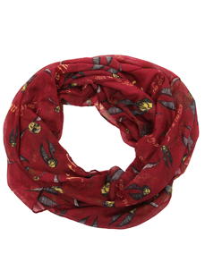 Harry Potter Golden Snitch Infinity Scarf
