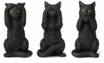 Hear, See, Speak No Evil Cats