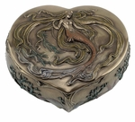 Heart-Shaped Mermaid Box