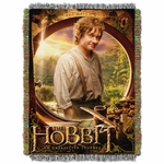 The Hobbit Bilbo Tapestry Throw Blanket