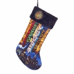 Harry Potter Hogwarts Christmas Stocking