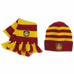 Hogwarts Knit Hat & Scarf Set