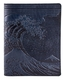 Hokusai Wave Leather Composition Notebook