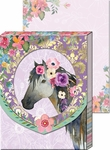 Horse Diecut Window Pocket Notepad