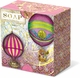Hot Air Balloons Green Tea Pleat-Wrapped Soap