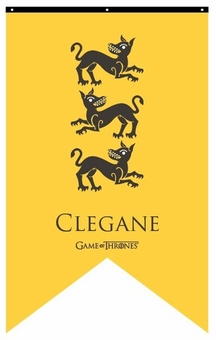 House Clegane Banner - Game of Thrones