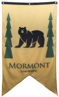 House Mormont Banner - Game of Thrones