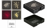 House Sigil Coaster Set: Game of Thrones