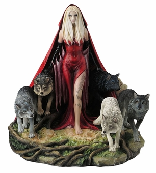 Howl Wolf Statue