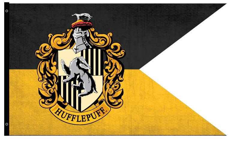 Hufflepuff Outdoor Flag Harry Potter Gifts Collectibles