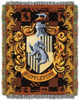 Hufflepuff Tapestry Throw Blanket