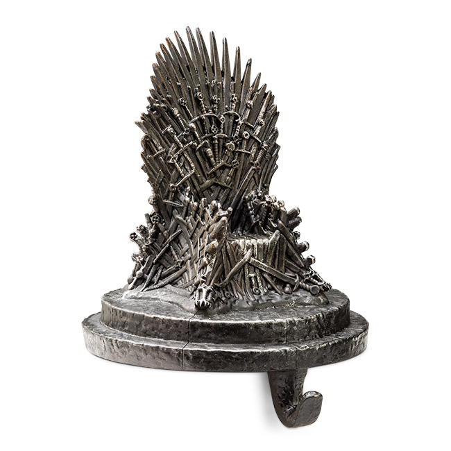 game thrones iron. Game Of Thrones Iron Throne Stocking Holder