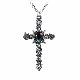 Ivy Cross Pendant