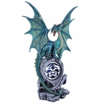 Jade Dragon Statue