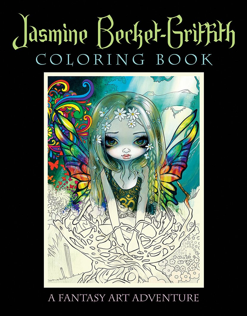 Jasmine Becket Griffith Coloring Book