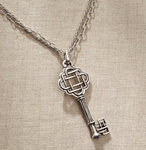 Jim Shore Celtic Knot Key Necklace