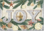 Joy Shell-Boughs Christmas Cards