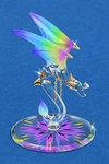 Glass 'Kaleidoscope' Dragon