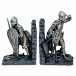 Knight Bookend Set