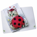 Lady Bug Kitten Journal