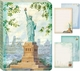 Lady Liberty Soft Cover Journal