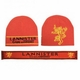 Lannister Beanie + Scarf Set: Game of Thrones