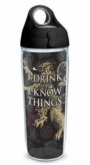 Lannister Water Bottle: Game of Thrones