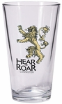 Lannister Pint Glass: Game of Thrones