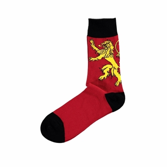 Lannister Sigil Socks: Game of Thrones