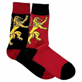 Lannister Sigil Socks (2 pair) : Game of Thrones