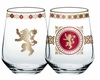 Lannister Stemless Wineglass Set: Game of Thrones