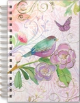 Lavender Bird Spiral Bound Journal