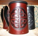 Leather Mugs
