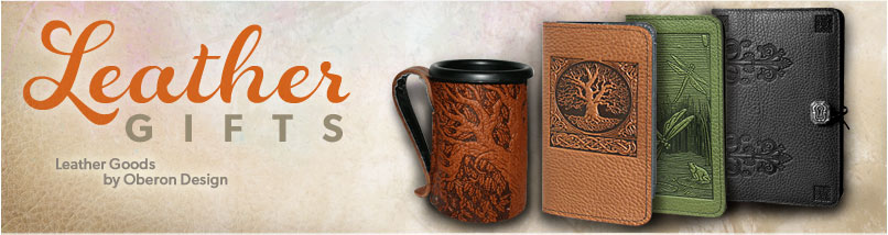 Leather Check Book Covers, Busines Card Holders, Renaissance Leather Mugs, Renaissance Pouches, Bags, Journals