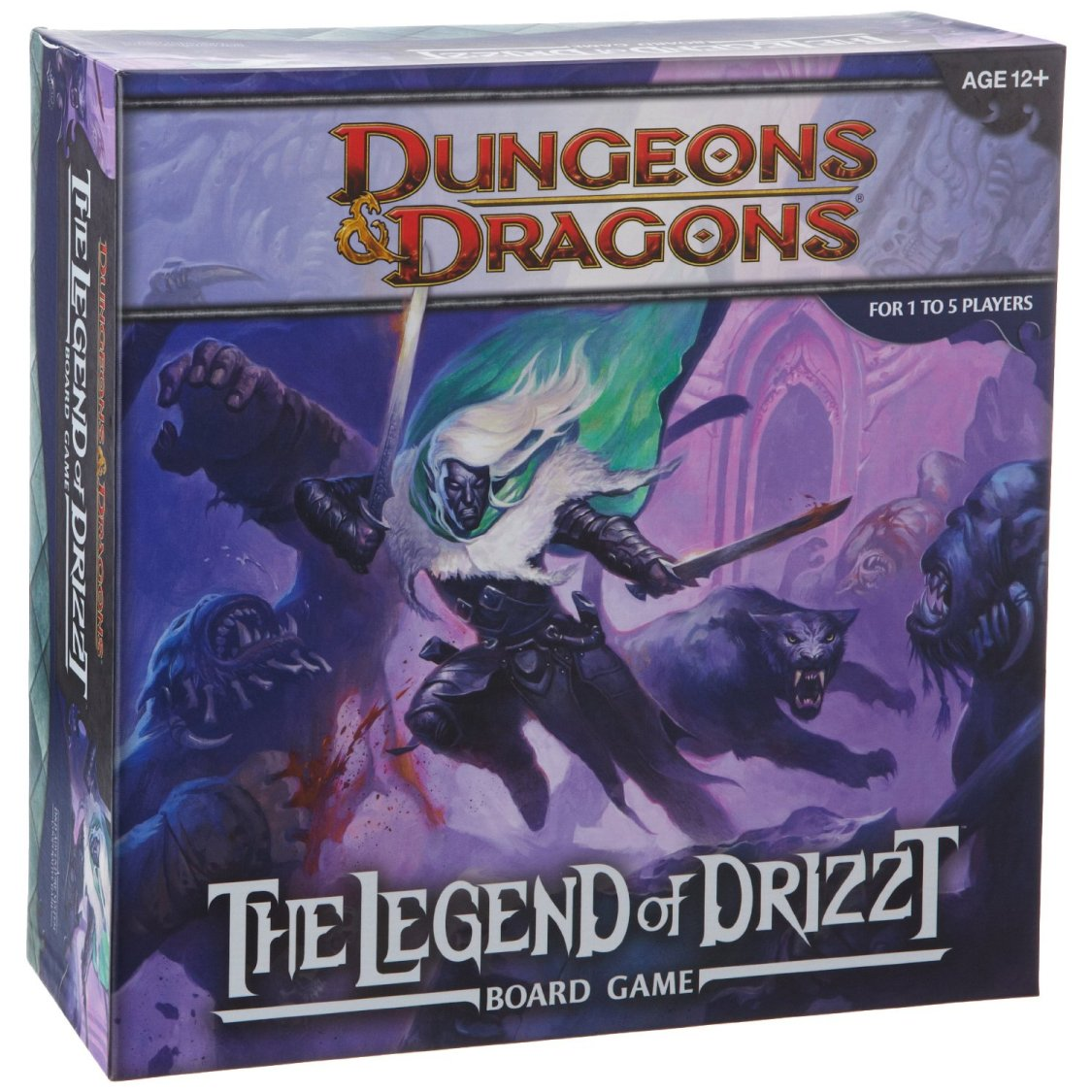 Legend Of Drizzt A Dungeons And Dragons Board Game Dd