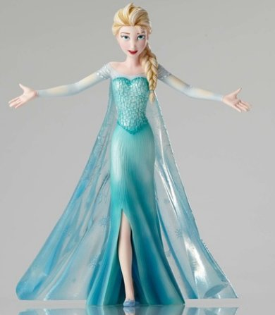 Let It Go Elsa Figurine Disneys Frozen Gifts