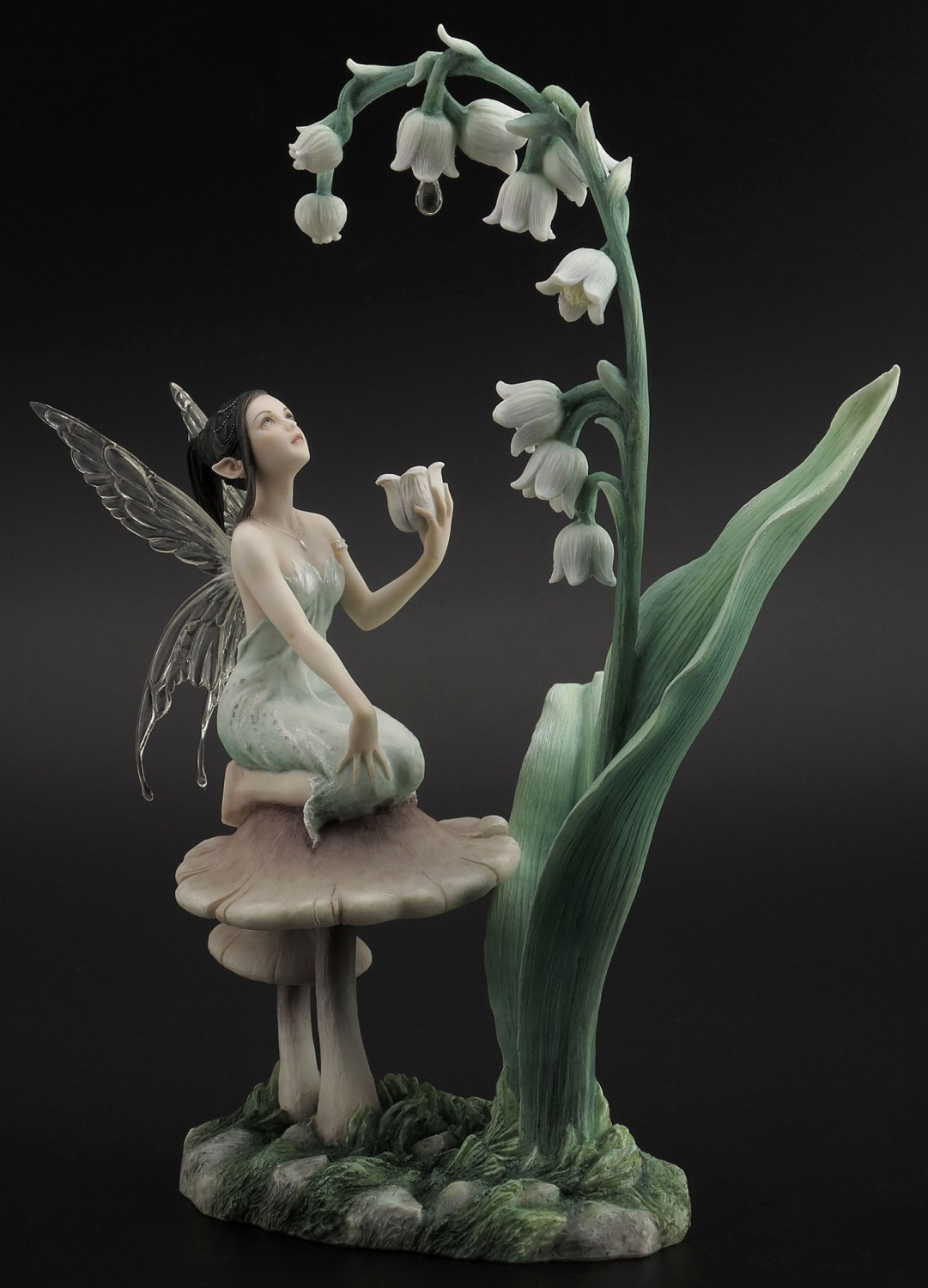 Lily Of The Valley Fairy Figurine By Rachel Anderson
