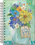 Live Simply Bouquet Spiral Bound Journal