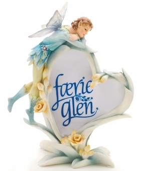 Longing for You Boy Fairy Picture Frame