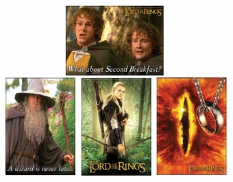 Lord of the Rings Magnet Set