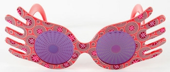 Luna Lovegood Spectra Specs Harry Potter Glasses Fairyglen Com