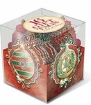 Luxurious Ornaments Gift Tag Cube
