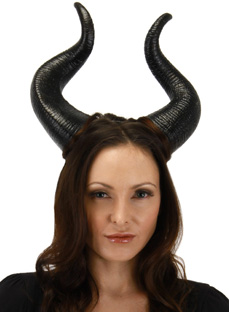 Maleficent Deluxe Horns
