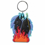 Maleficent Soft Touch Key Ring