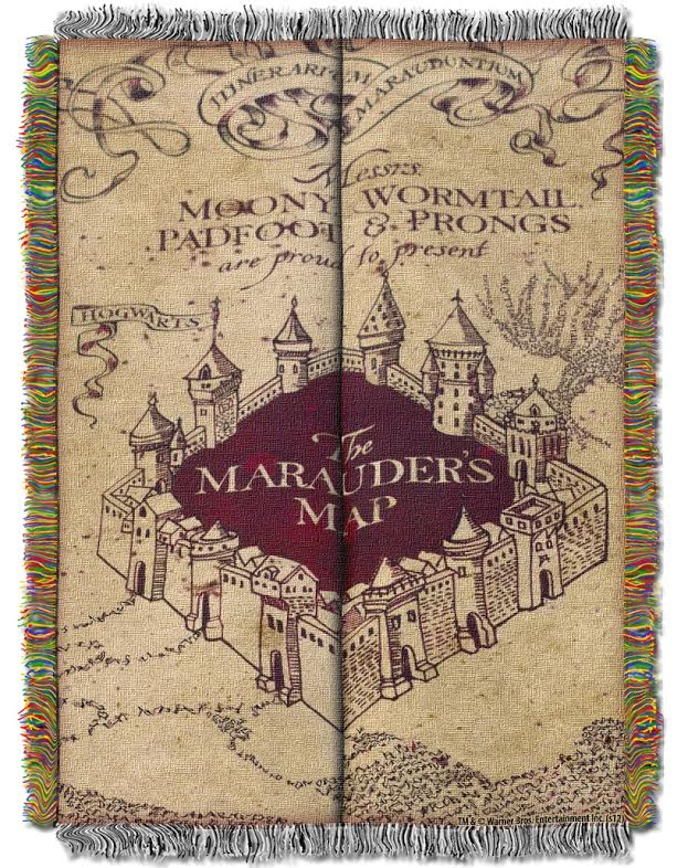Marauder's Map Tapestry Throw Blanket on resident evil map, cancer map, rocky map, tv map, star fleet universe map, lord of the rings map, anime map, disney map, sherlock holmes map, diagon alley map, mauraders map, wizard of oz map, mario map, matrix map, marauder's map, cars map, marvel universe map, alice in wonderland map, middle-earth map, narnia map,