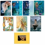 Mermaid Greeting Card Set