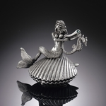 Mermaid on Seashell Box