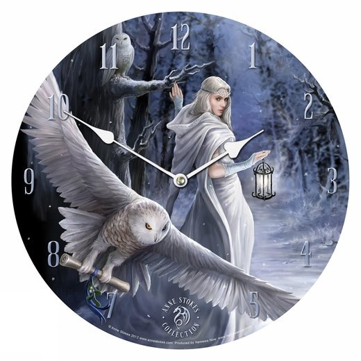 Midnight Messenger Wall Click By Anne Stokes Witch Gifts